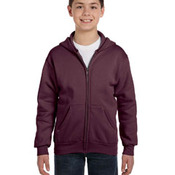 Youth 7.8 oz. ComfortBlend® EcoSmart® 50/50 Full-Zip Hood