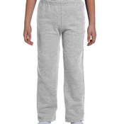 Heavy Blend™ Youth 8 oz., 50/50 Open-Bottom Sweatpants