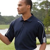 Golf ClimaLite® 3-Stripes Cuff Polo