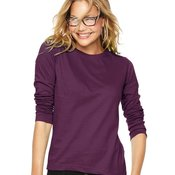 Women's Long Sleeve Crewneck T-Shirt