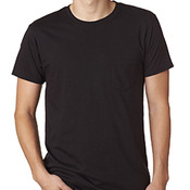 4.5 oz., 100% Ringspun Cotton nano-T® T-Shirt with Pocket