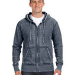 Adult Vintage Zen Full-Zip Fleece Hood