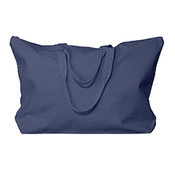 Amanda Canvas Zippered Tote
