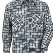 Plaid Long Sleeve Uniform Shirt