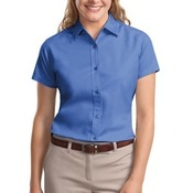 Ladies Short Sleeve Easy Care Shirt