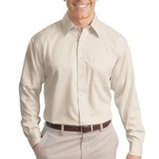 Long Sleeve Non Iron Twill Shirt