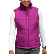 Ladies Puffy Vest