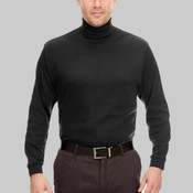 Adult Egyptian Interlock Long-Sleeve Turtleneck