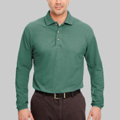 Adult Long-Sleeve Classic Piqué Polo