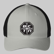 Blue Collar Flexfit Cap Logo