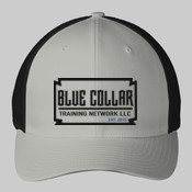 Blue Collar Flexfit Cap Logo Full