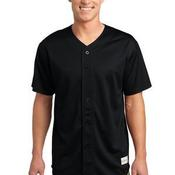 PosiCharge™ Tough Mesh Full Button Jersey