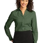 Ladies Crosshatch Easy Care Shirt