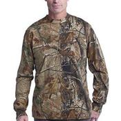 s ™ Realtree ® Long Sleeve Explorer 100% Cotton T Shirt with Pocket