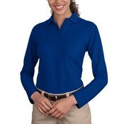 Ladies Silk Touch™ Long Sleeve Polo